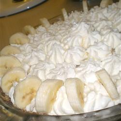 Old Fashioned Banana Cream Pie Recipe