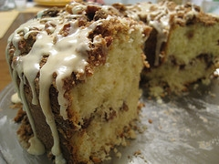 Homemade Sour Cream Coffee Cake Recipe
