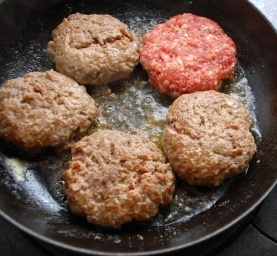 Hamburger Patties Recipe with Hamburger Seasoning