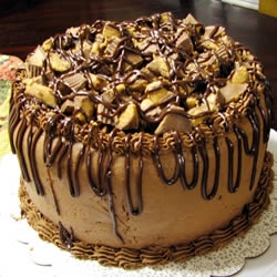 Homemade Peanut Butter Cake Recipe
