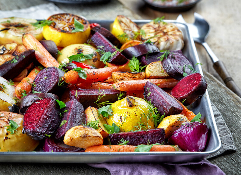 Roasting Vegetables and Fruit