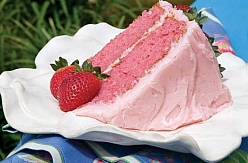 Easy Strawberry Cake from Scratch Homemade Strawberry Cake Recipe #StrawberryCakeFromScratch #MissHomemade