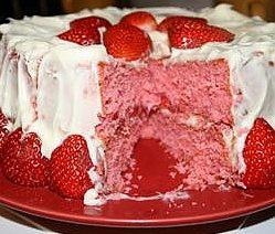 Homemade Strawberrry Cake Recipe