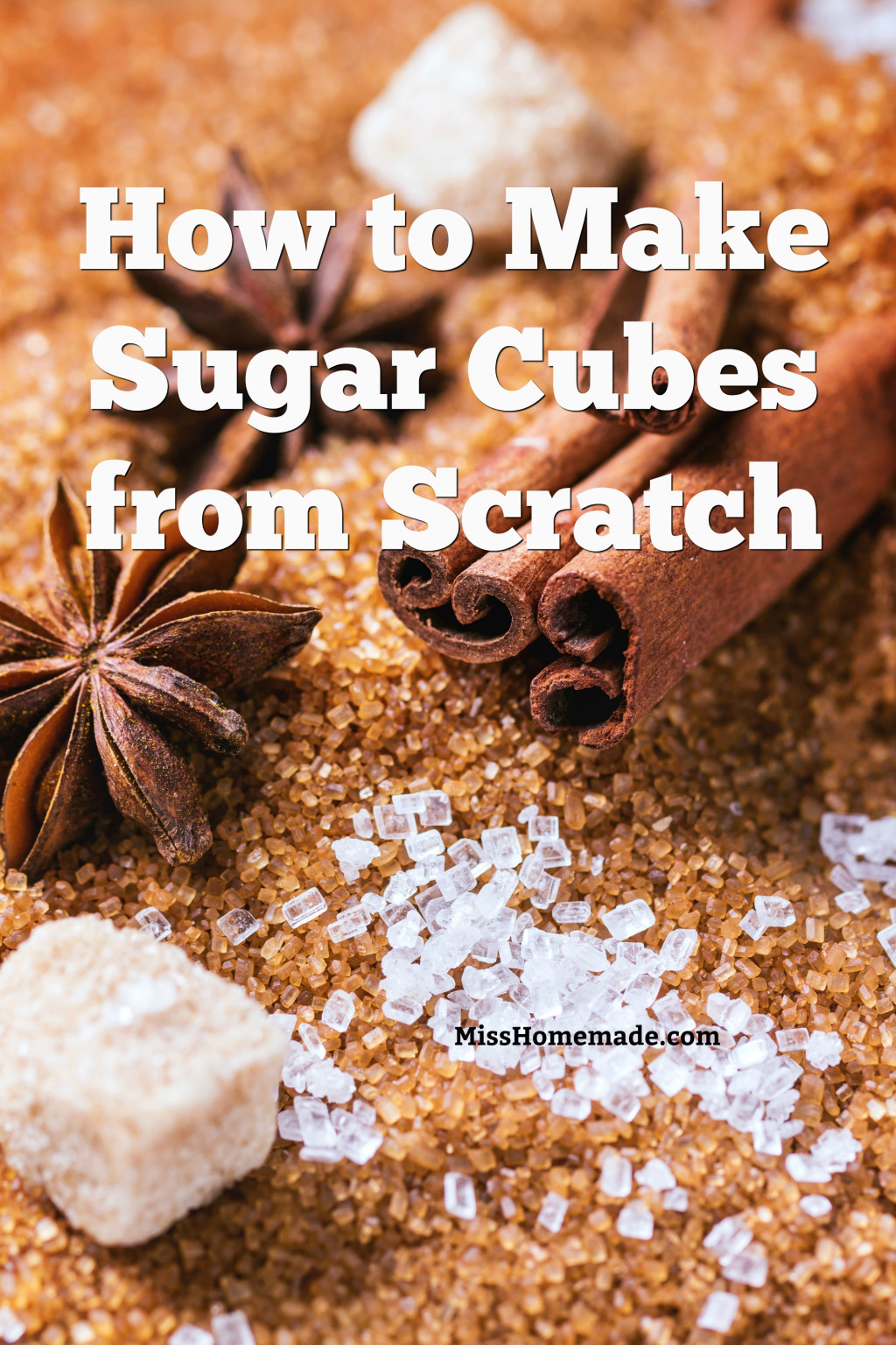 How to make Sugar Rocks from Scratch - this and more at MissHomemade.com
