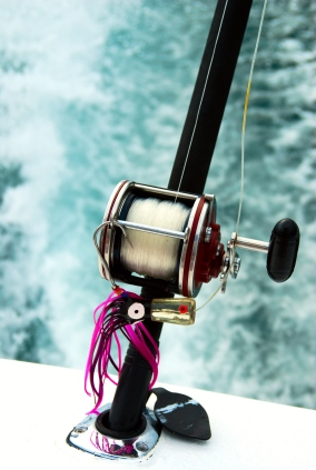 trolling fishing reel