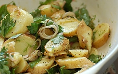 Mayonnaise Free Herb Potato Salad Recipe