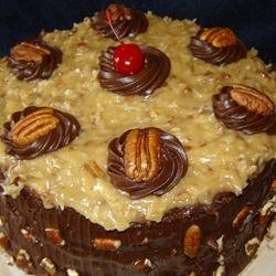 Coconut Pecan Frosting Recipe - use this recipe for a dynamite German Chocolate Cake! #misshomemade