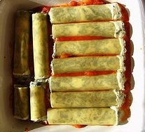 Homemade Cannelloni Pasta Recipe