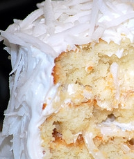 Homemade Coconut Cake from Scratch