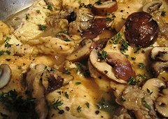 Wild Turkey Breast in Wine Sauce Recipe #misshomemade | Thousands of recipes at MissHomemade.com